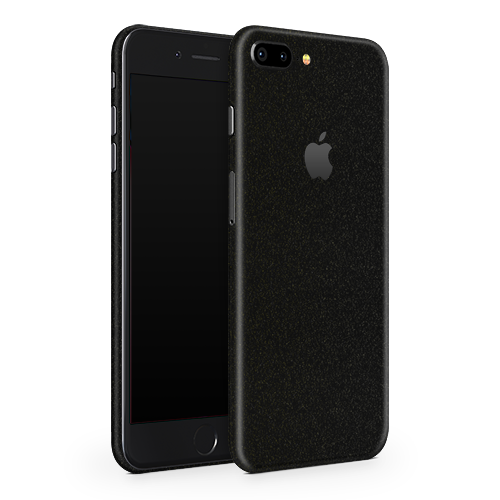iPhone 7 Skin - Galactic Black Gold
