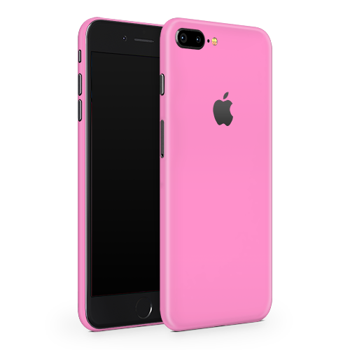 iPhone 8 Plus Skin - Pink Bubblegum Satin