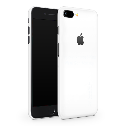 iPhone 8 Plus Skin - White Matt