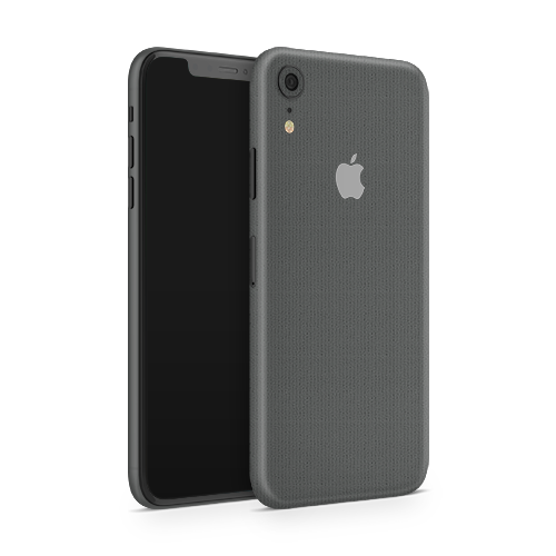 iPhone XR Skin - Brushed Graphite