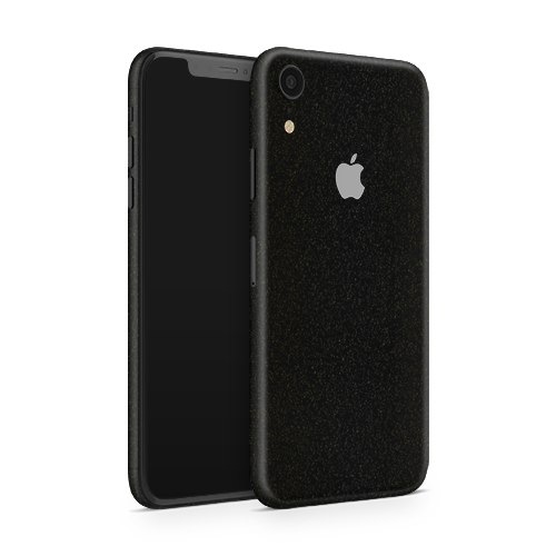 iPhone XR Skin - Galactic Black Gold