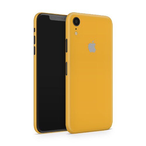 iPhone XR Skin - Sweet Orange Matt