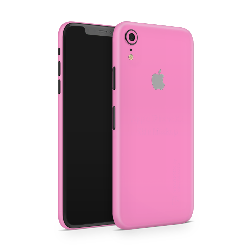 iPhone XR Skin - Pink Bubblegum Satin