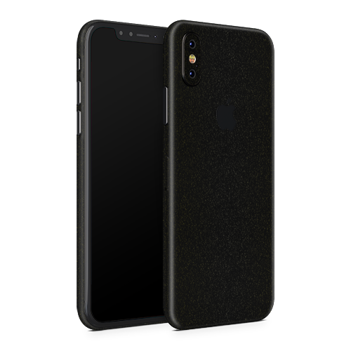 iPhone X Skin - Galactic Black Gold
