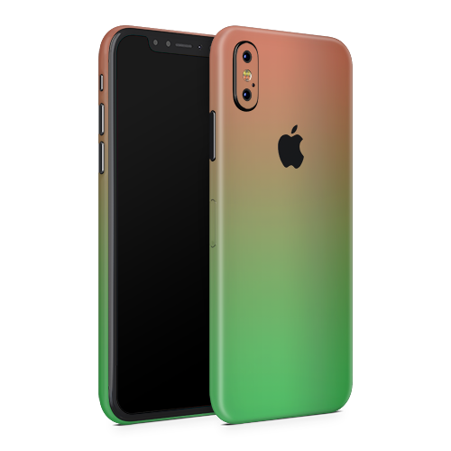iPhone X Skin - Watermelon Chameleon Matt