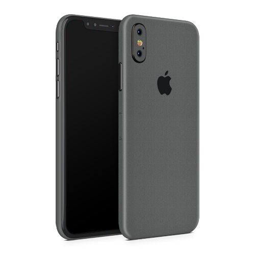 iPhone XS Skin - Brushed Graphite
