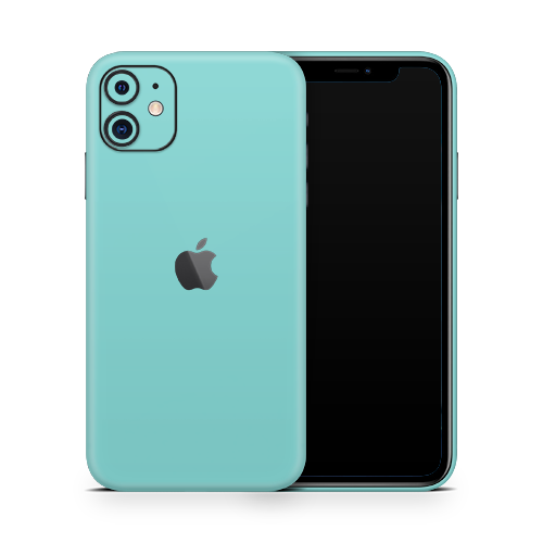 iPhone 11 Skin - Mint Matt