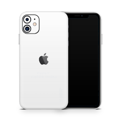 iPhone 11 Skin - White Matt