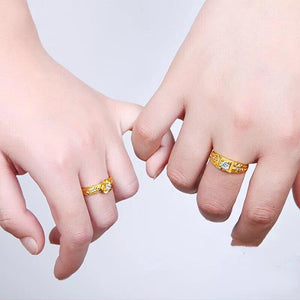 The MIDAS Luxuries Couple Ring 2019Edition K2
