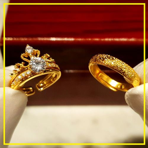 The MIDAS Luxuries Couple Ring 2019 Edition M1