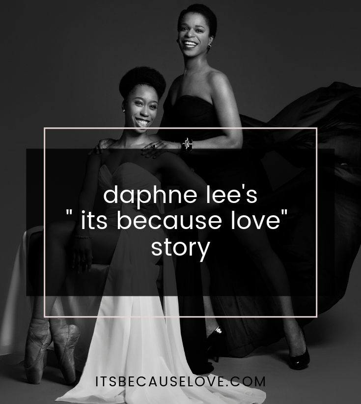 "Daphne Lee's ""It's Because Love"" Story"