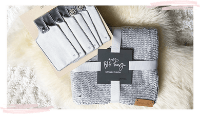 Bundle Pack: Big Hug Lap Blanket + Additional Tags