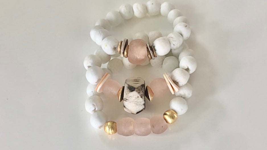 Blush Stack Mykonos Collection