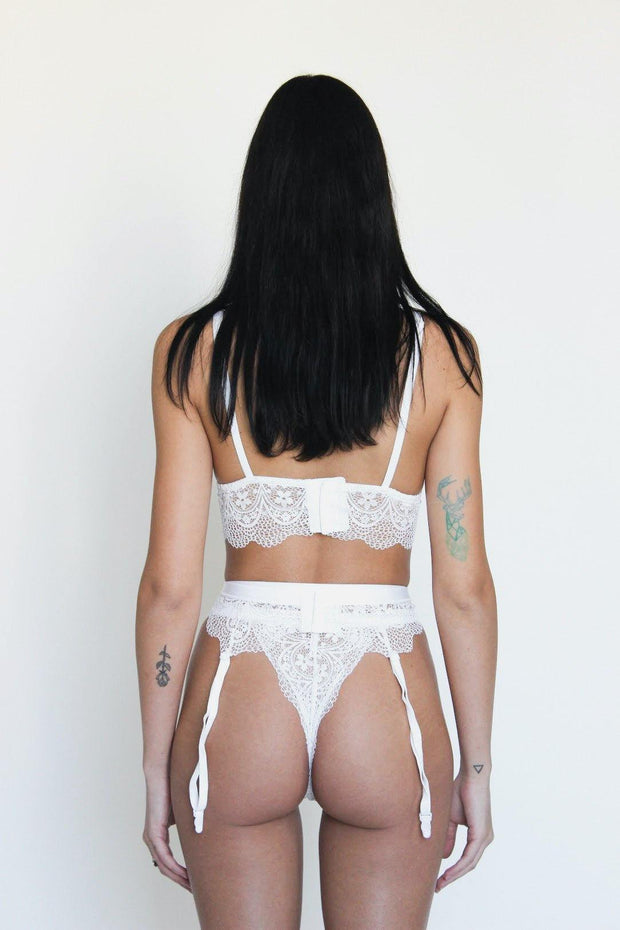 white lingerie set hailey bieber kendall jenner kylie jenner fashion style closet outfit sexy chic panty bra white bra lace bra