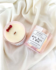 Silk Lace & Oud Handmade Sustainable Candle