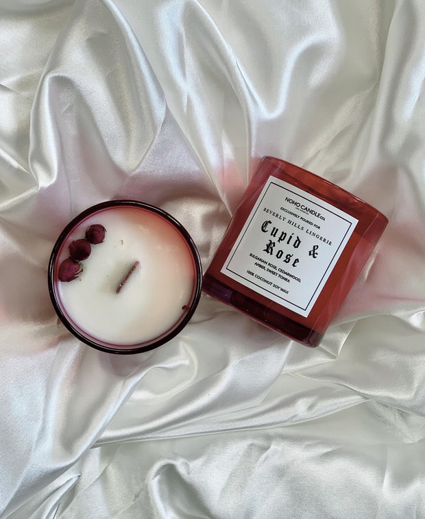 Cupid & Rose Handmade Sustainable Candle - Beverly Hills Lingerie