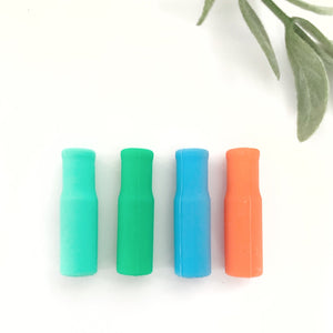 Sustainables: Just the Tip- Silicone Straw Tips.