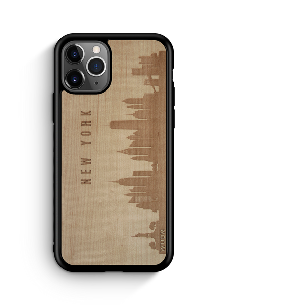 Naturals: CityScape Wooden Phone Case | New York NY