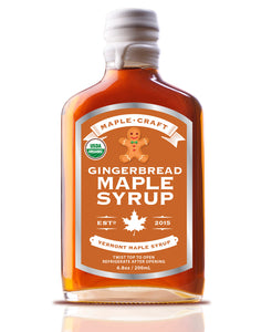 Organics: Maple Syrup: Gingerbread Vermont (Organic).