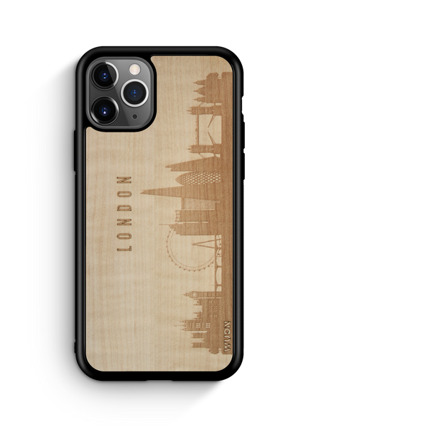 Naturals:  Wooden Phone Case | London England