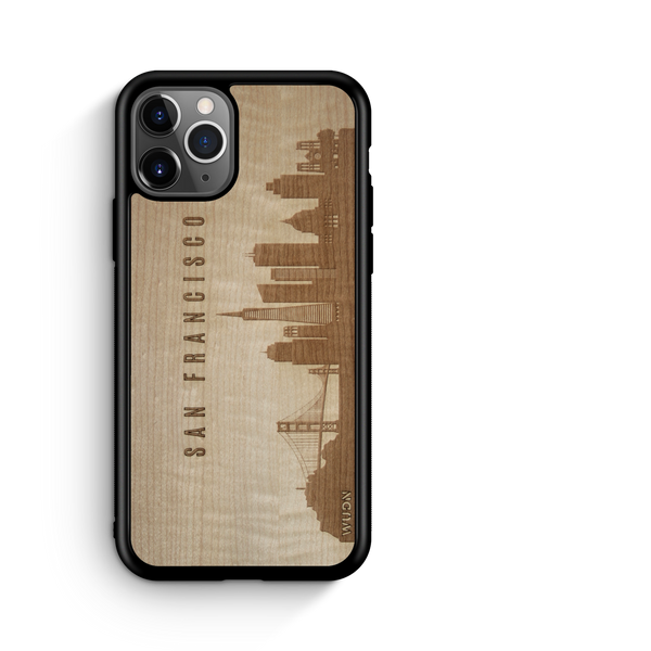 Naturals:  Wooden Phone Case | San Francisco CA