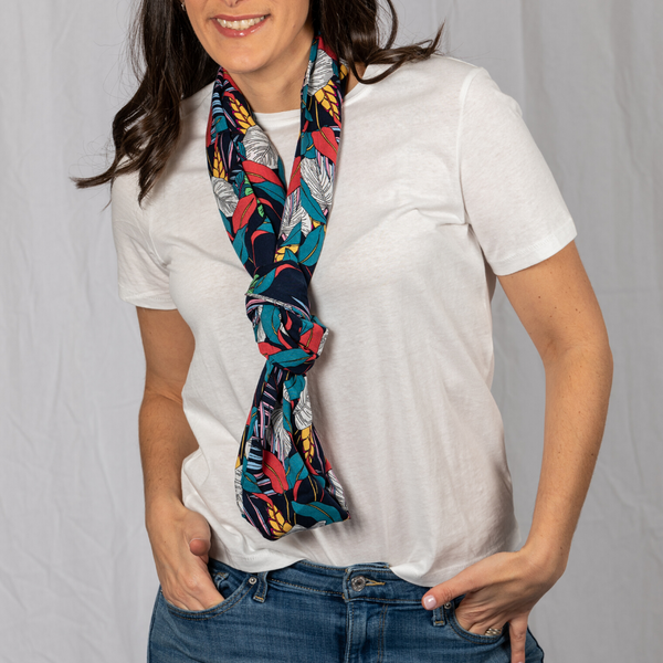 Rayon: Ladies: Scarf: Gabrielle Hidden Pocket.
