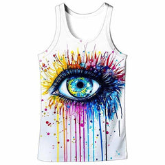 3D COLORFUL EYE TANK