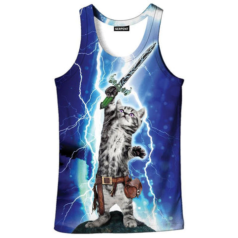 LIGHTING CAT WARRIOR TANK