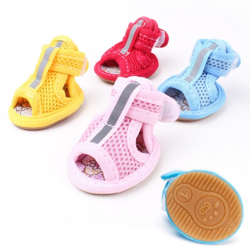 Soft Casual Anti-Slip Small Pet Shoes