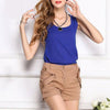 Stylish Chiffon sleeveless T Shirt
