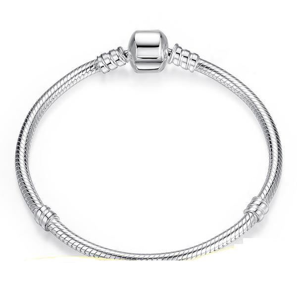 Sterling Silver Snake Chain Bangle & Bracelet