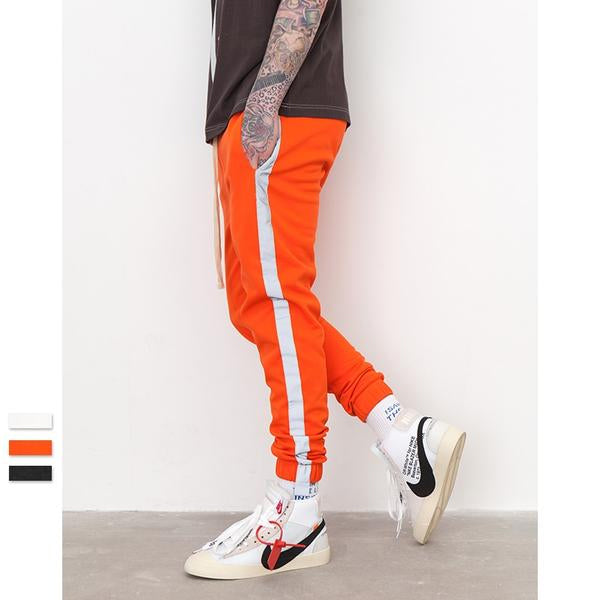 Striped Reflective Trousers