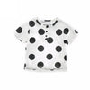 Summer Children Tops Dots Printed