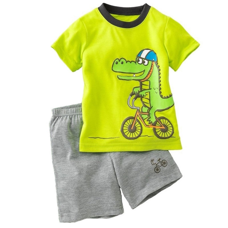 Summer Kids Short Sleeve