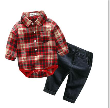Best Plaid Baby Rompers