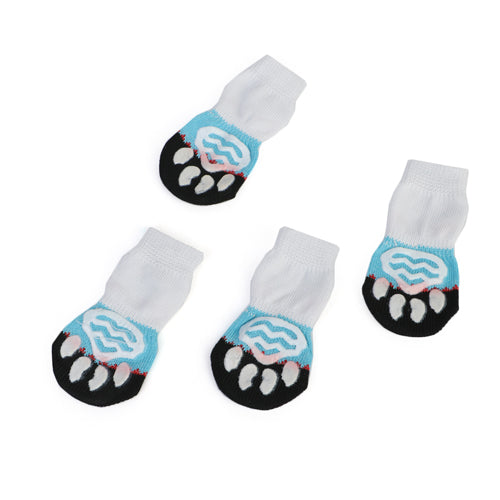 Anti-Slip Knit Socks Pet Shoes