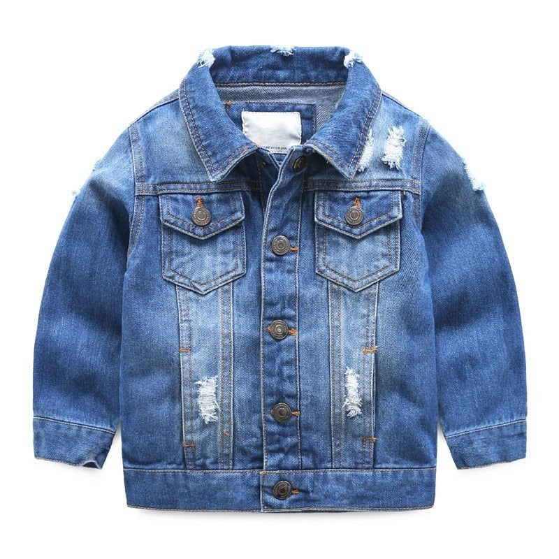 Children Denim Jacket Coat