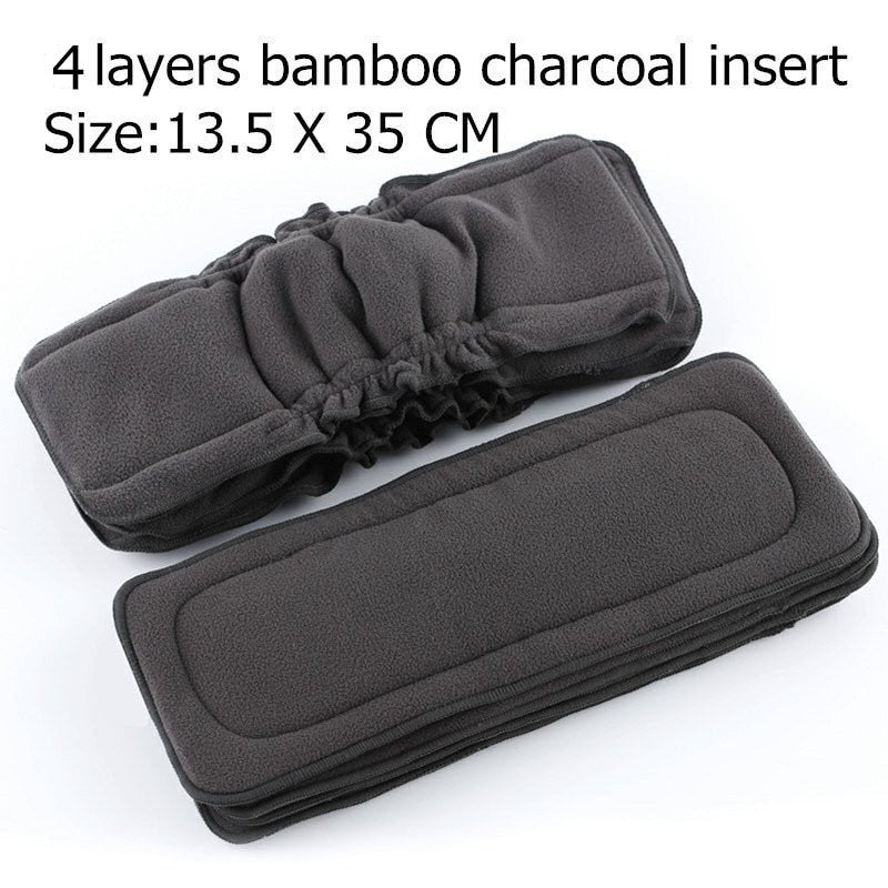Bamboo Charcoal Baby  Nappies