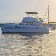 Streamline 10.5 Powered Catamaran l Silhouette