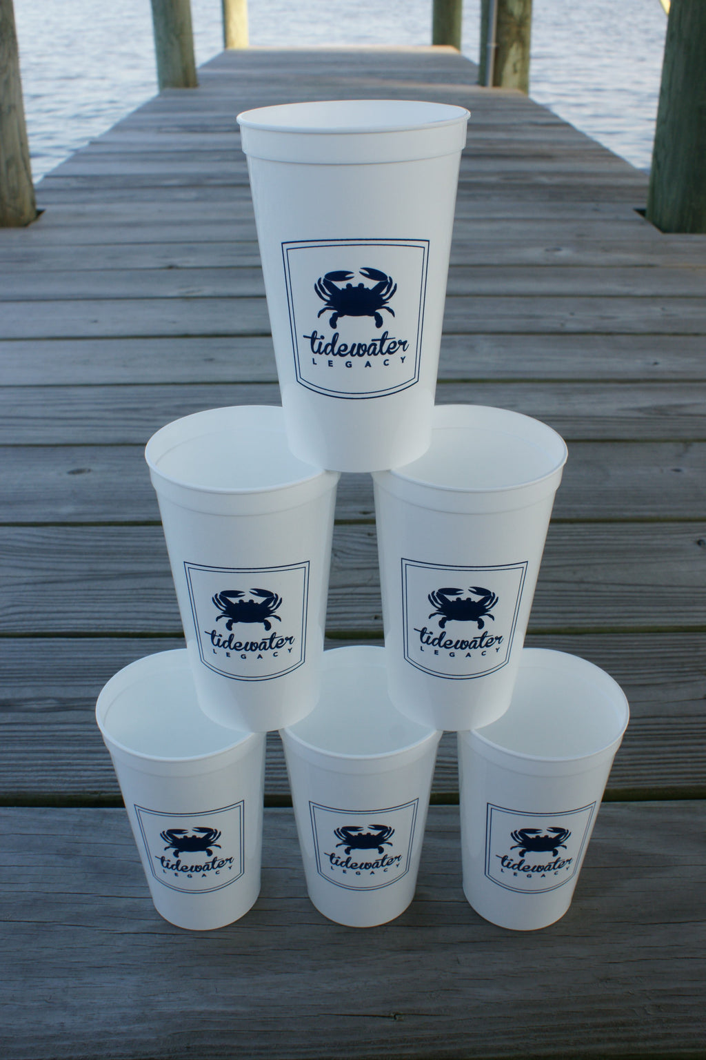 Tidewater Legacy 6-Stack Stadium Cups