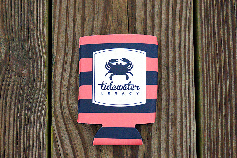 Striped Koozie