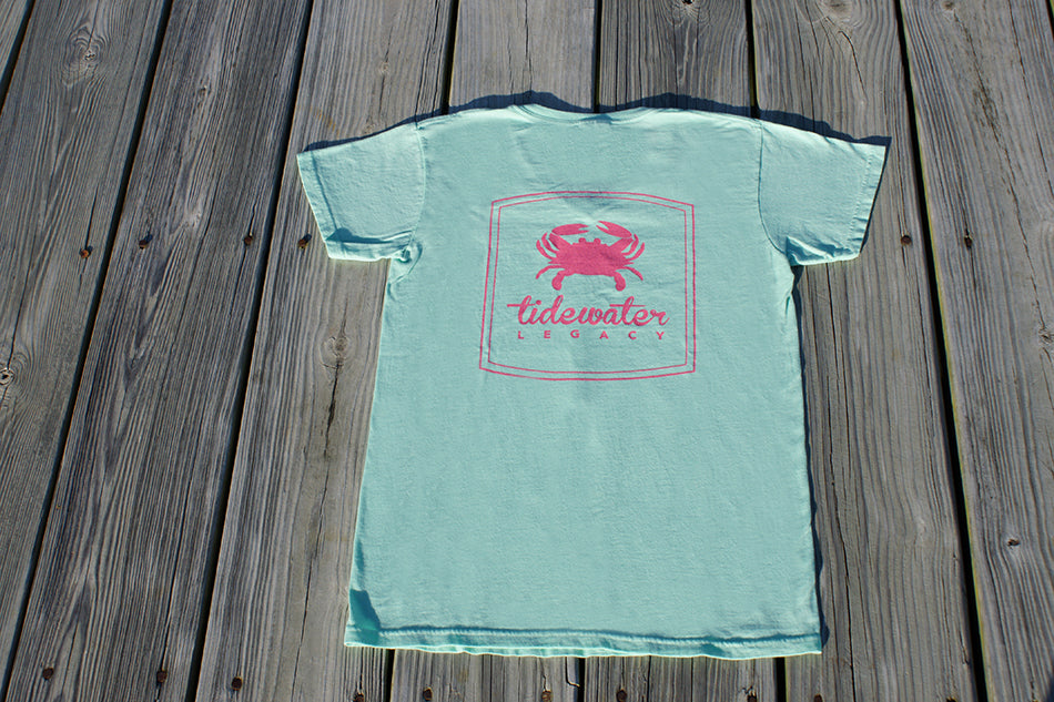 Ladies V-Neck Short Sleeve