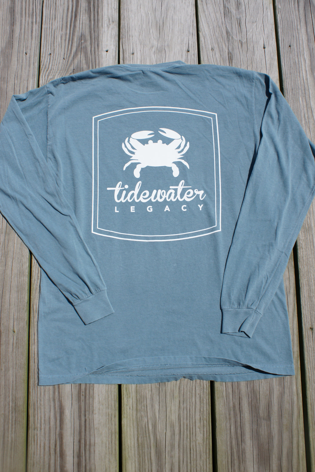 Ice Blue Long Sleeve