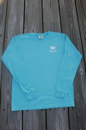 Lagoon Blue Long Sleeve