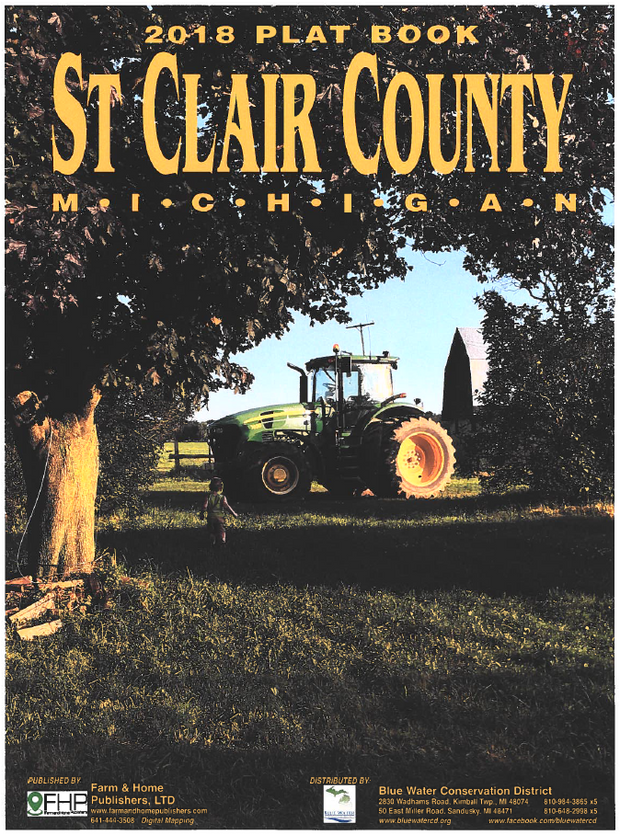 St. Clair County Plat Book