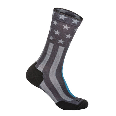 SOCK & AWE CREW THIN BLUE LINE - 5.11 Tactical Finland Store
