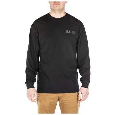 THIN BLUE LINE LONG SLEEVE TEE - 5.11 Tactical Finland
