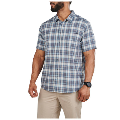 WYATT SHORT SLEEVE PLAID SHIRT