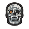 PAINTED DIGI CAMO SKULL PATCH