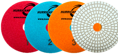 Pads Wet 3 Step HURRICAN® - agmtools